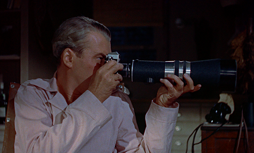 camera used in rear window