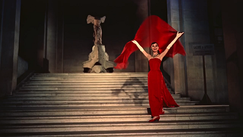 From the fashion montage in FUNNY FACE
