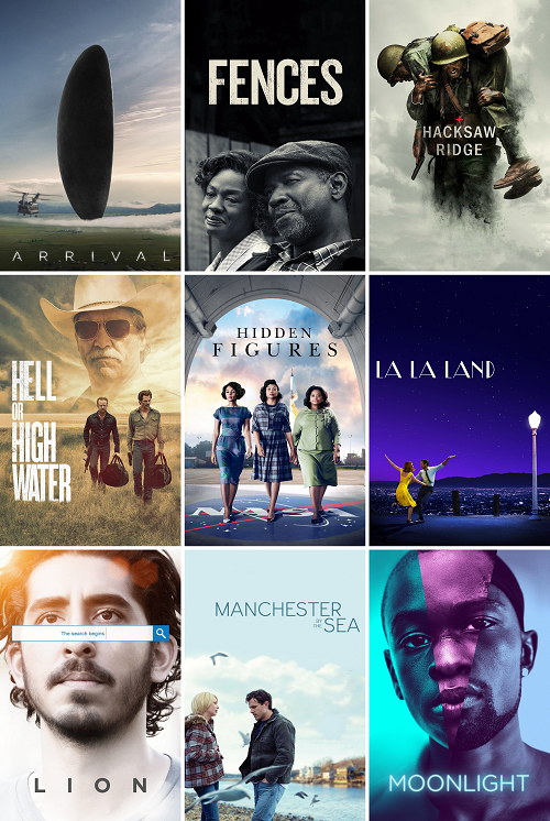 The 89th Academy Awards: My Picks and Predictions | cinema cities